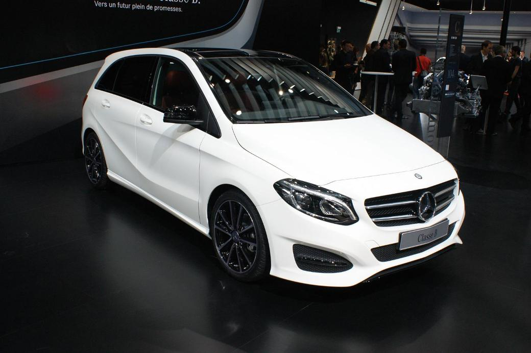 Face-lifted Mercedes-Benz B-Class Makes An Appearance In ...