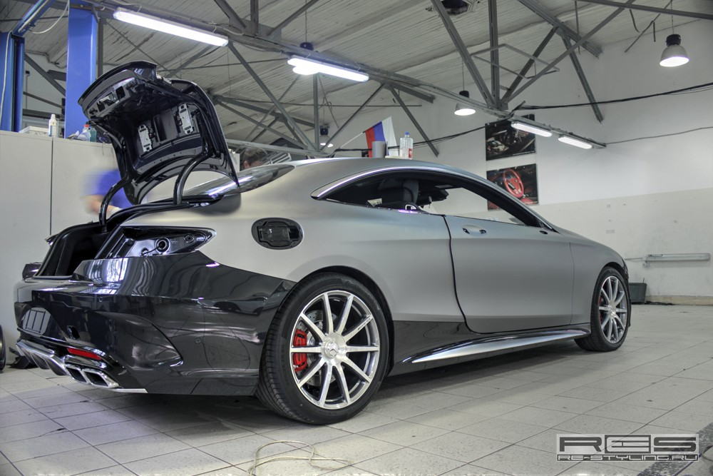 re styling tunes mercedes benz s63 amg coupe a mercedes benz fan blog. Black Bedroom Furniture Sets. Home Design Ideas