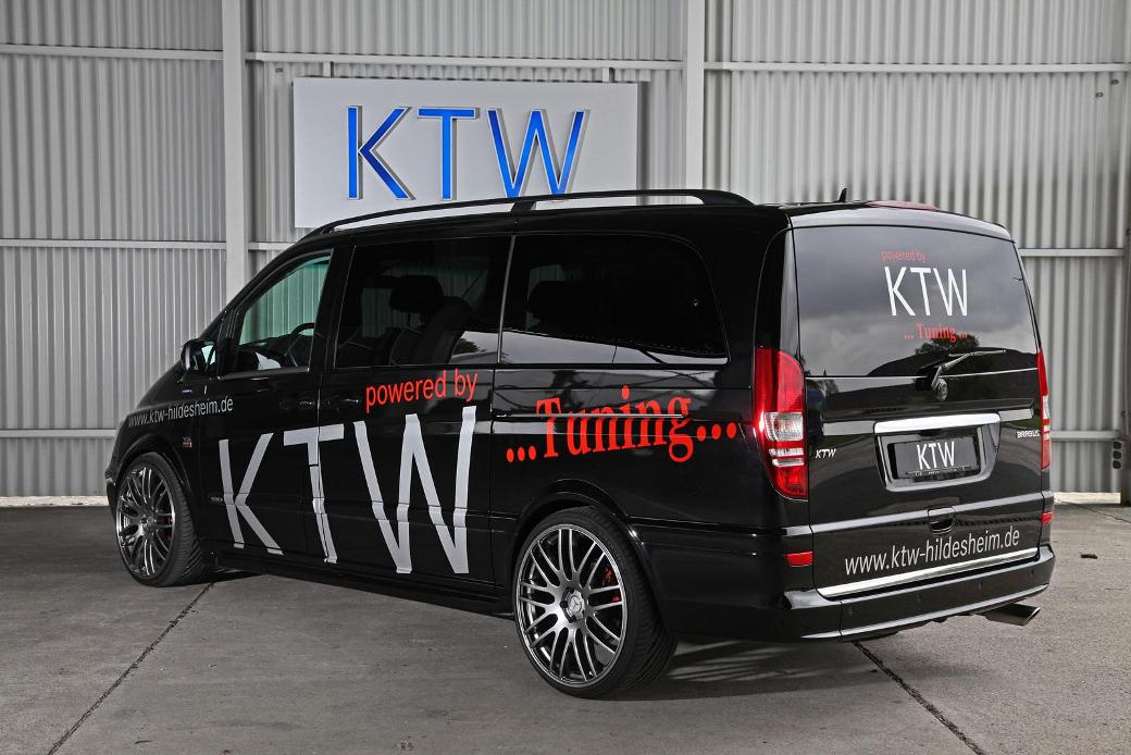 ktw tuning enhances mercedes benz viano. Black Bedroom Furniture Sets. Home Design Ideas