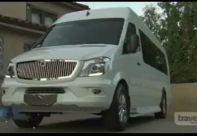 Modified Mercedes-Benz Sprinter Of Tyrese Gibson Featured on Travel TV