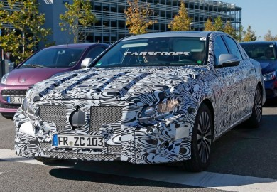Images Of New 2017 Mercedes-Benz E-Class With New Body Emerge