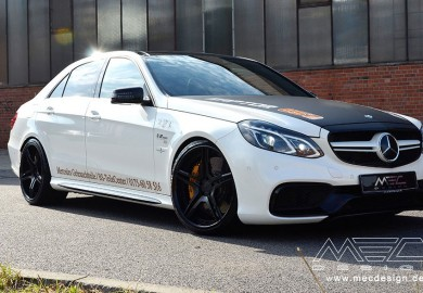 MEC Design Enhances Mercedes-Benz E63 AMG