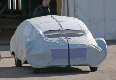 Images Of Mysterious Mercedes-Benz Concept Vehicle Emerge