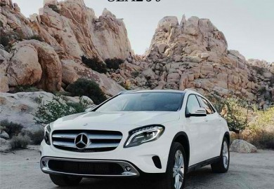 Mercedes-Benz USA GLA app