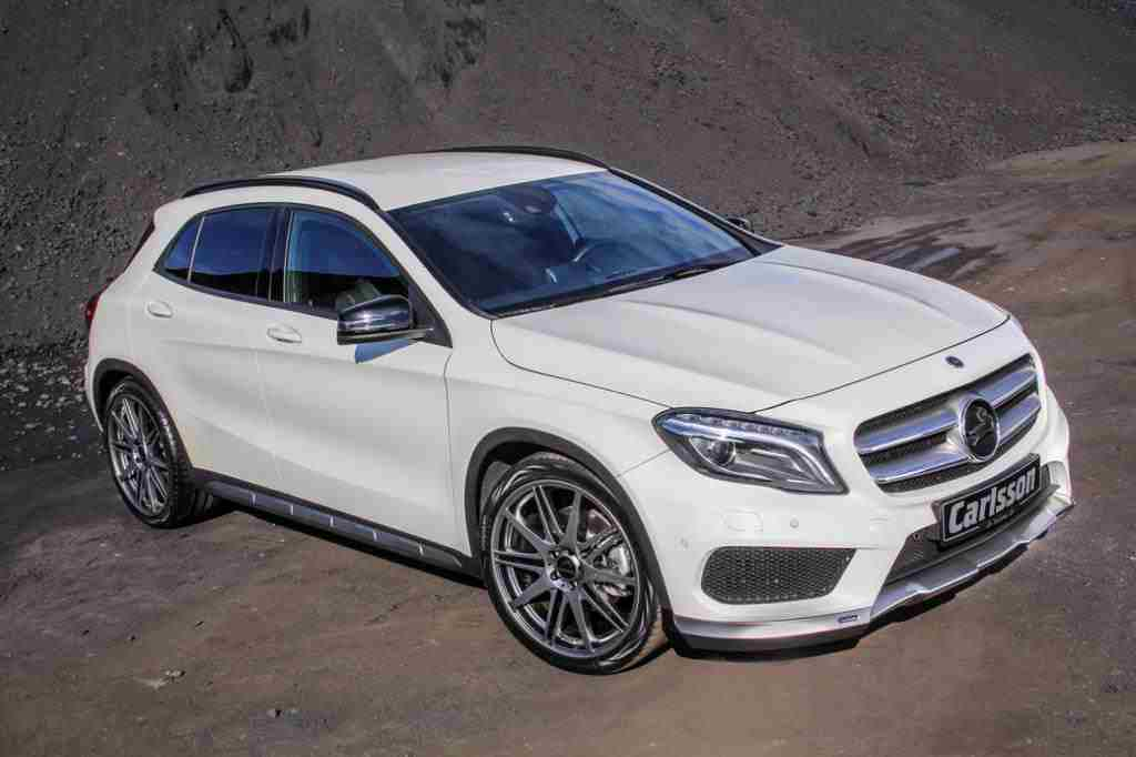 Carlsson Mercedes GLA Tuning Package Announced - BenzInsider