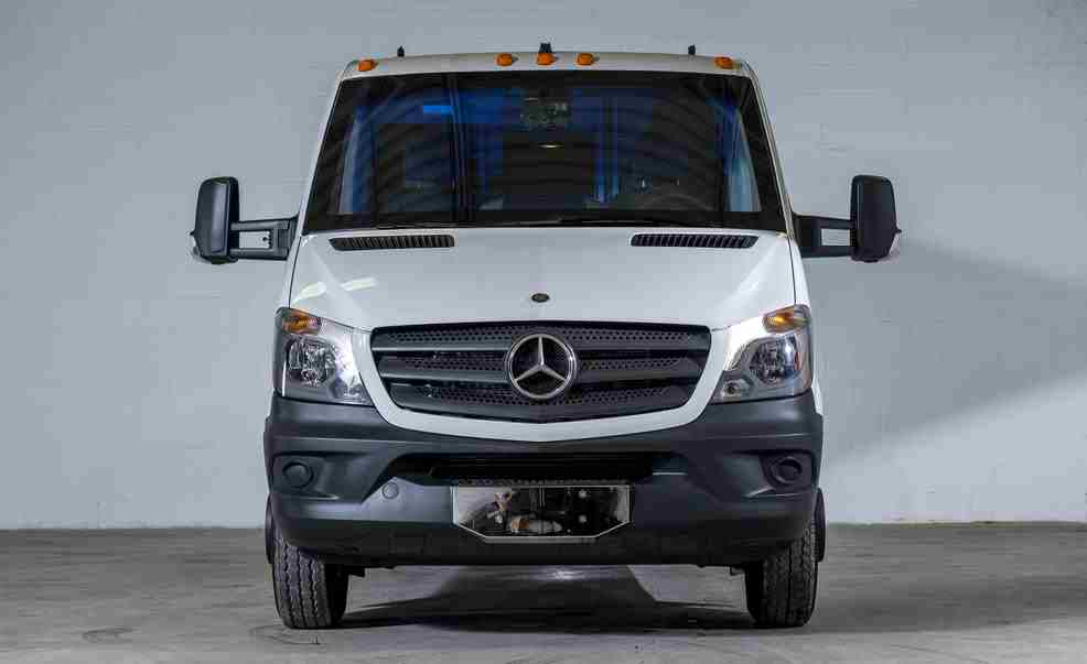 Mercedes benz sprinter turned into a bank vault by inkas for Mercedes benz bank login