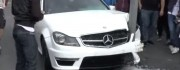 mercedes-benz c63 amg crash