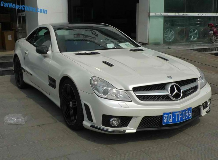 Lewis Auto Sales >> Check Out This Pearly-White Mercedes-Benz SL63 AMG - BenzInsider.com - A Mercedes-Benz Fan Blog