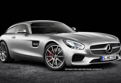 Rendering Of Mercedes AMG GT Shooting Brake Created