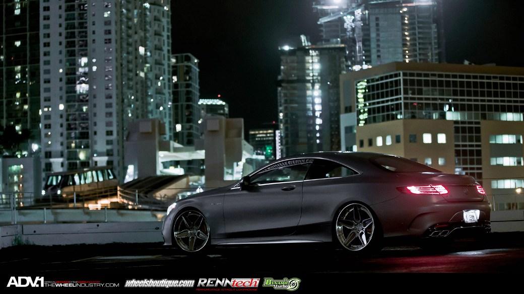 ADV.1 Wheels Enhances Matte Grey Mercedes-Benz S63 AMG ...