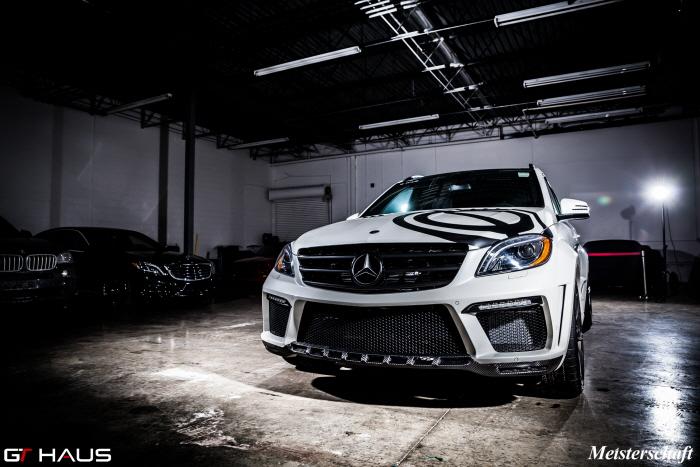 GT Haus Enhances A Mercedes-Benz ML63 AMG
