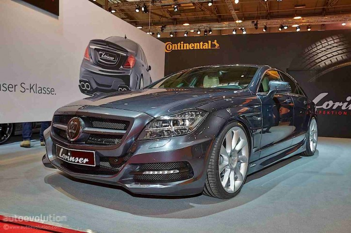 2015 Mercedes-Benz CLS Takes a Facelift and Power Boost From Lorinser