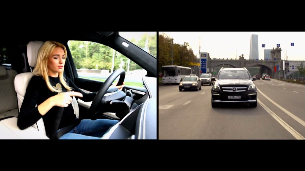 Mercedes-Benz GL 400 Reviewed By Russian Blonde