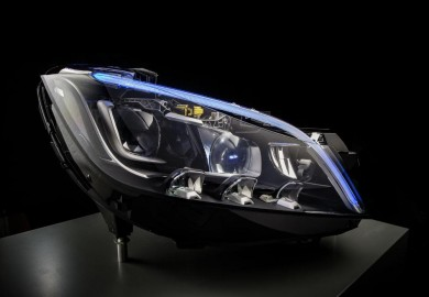 Next-Generation LED Headlights Unveiled By Mercedes-Benz