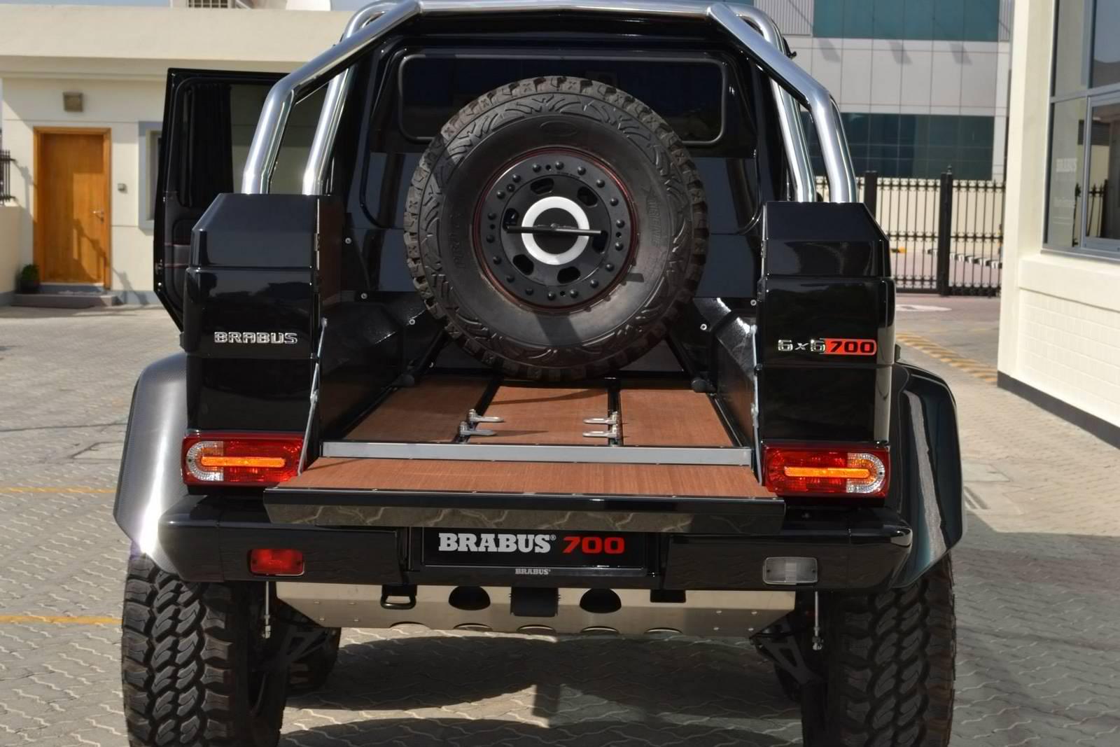 Check Out the Mammoth Brabus B63S 700 66  BenzInsidercom  A