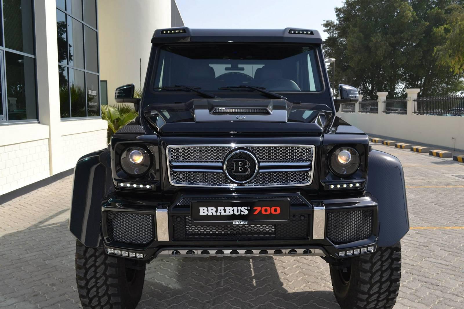 Check Out The Mammoth Brabus B63s 700 6 6 Benzinsider
