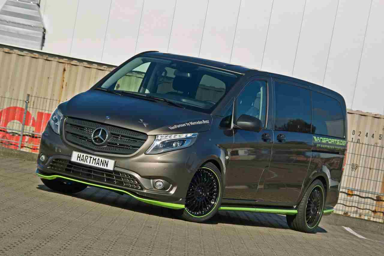 hartmann upgrades a mercedes vito a mercedes benz fan blog. Black Bedroom Furniture Sets. Home Design Ideas