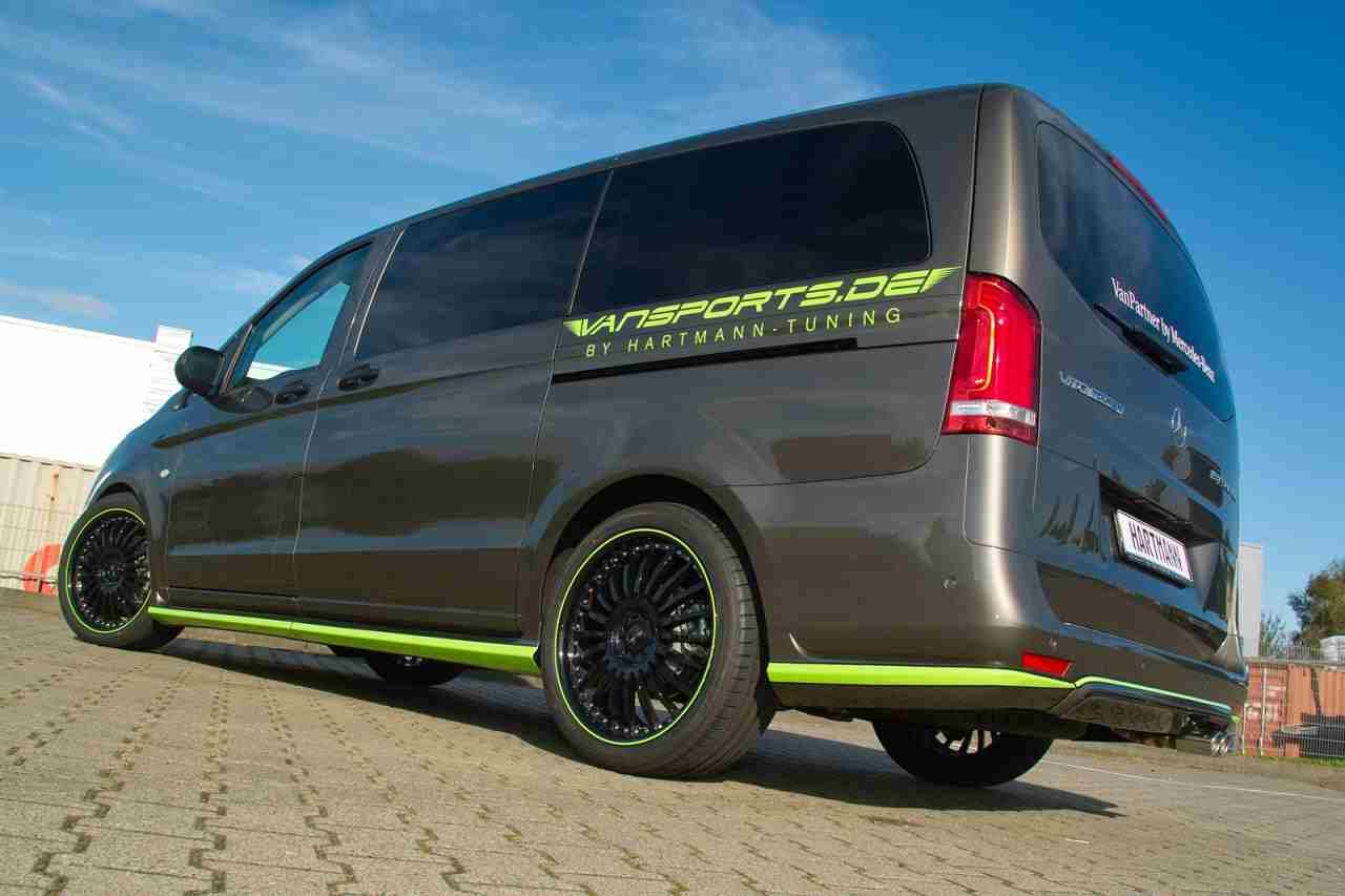 Hartmann Upgrades A Mercedes Vito Benzinsider Com A Mercedes Benz Fan Blog