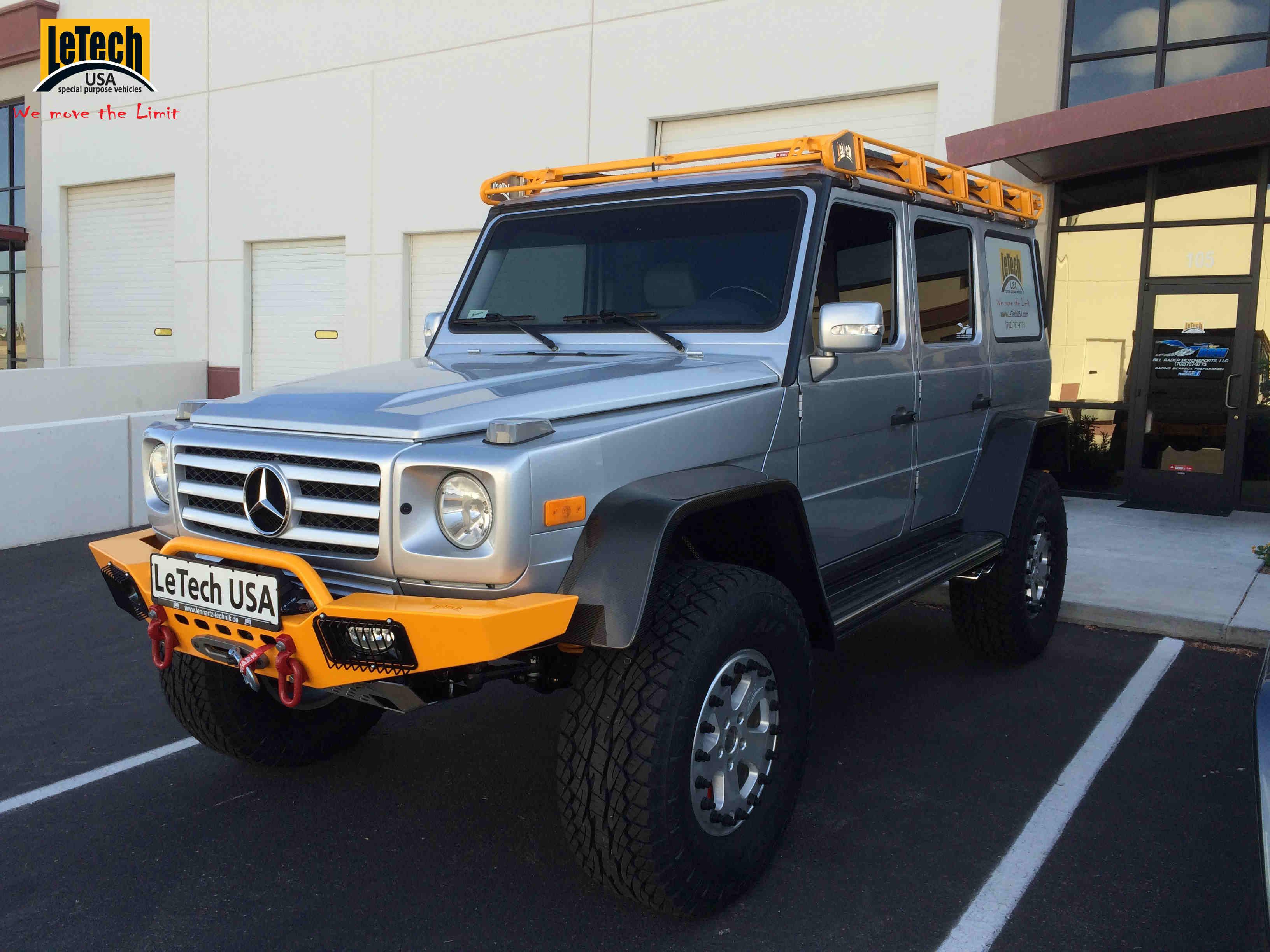 Check Out This Letech Usa Mercedes G Class Benzinsider