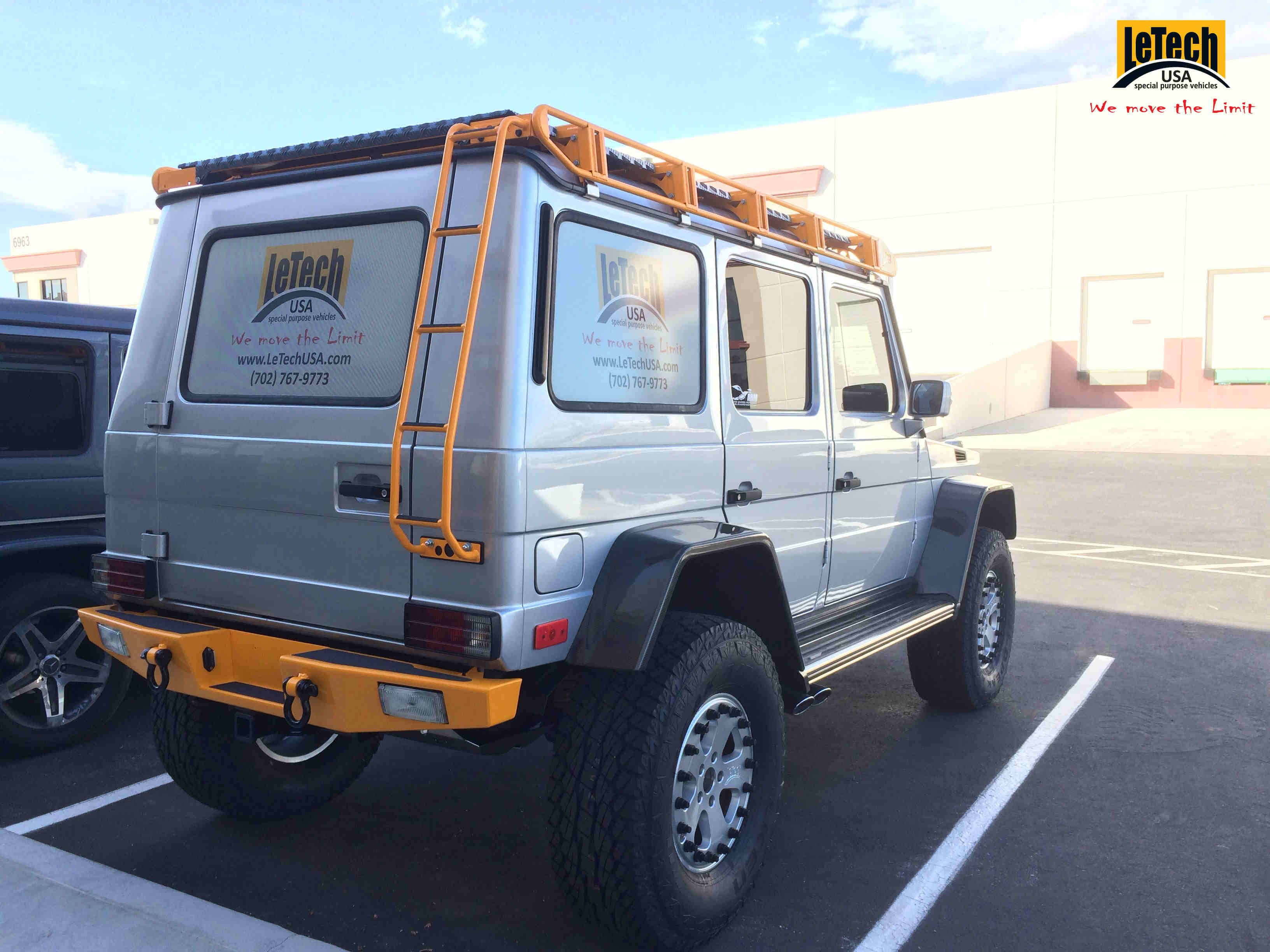 Check Out This Letech Usa Mercedes G Class Benzinsider
