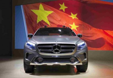 Mercedes-Benz GLA China