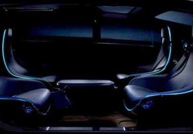 mercedes driverless car concept
