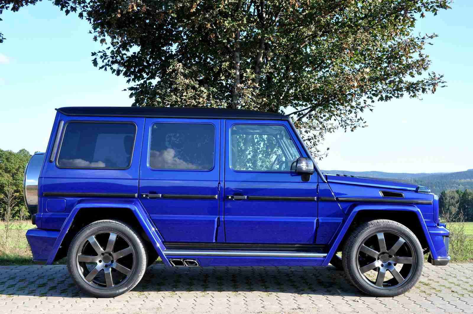 Mercedes G Class Modified By German Special Customs