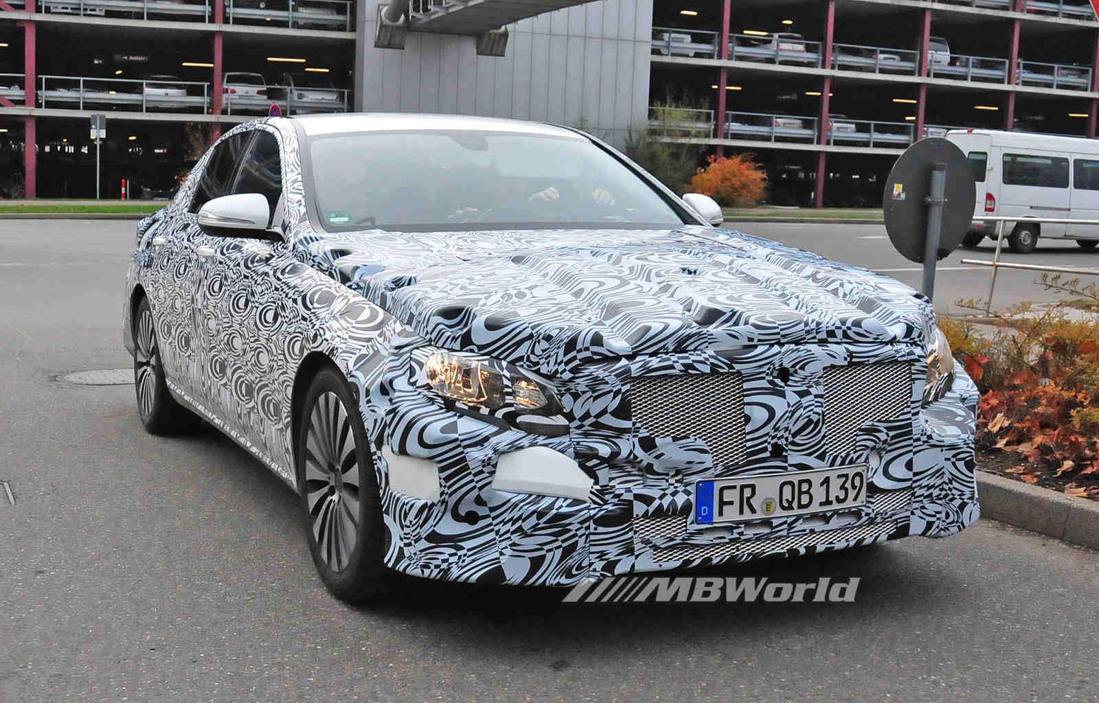 Spy Shots Mercedes E Class Pictures