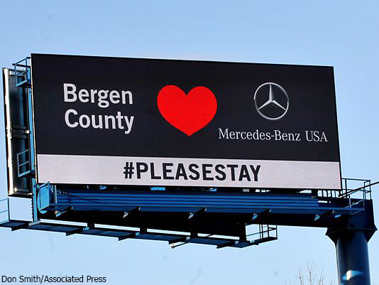 Nj to mercedes benz please stay a for Mercedes benz usa jobs