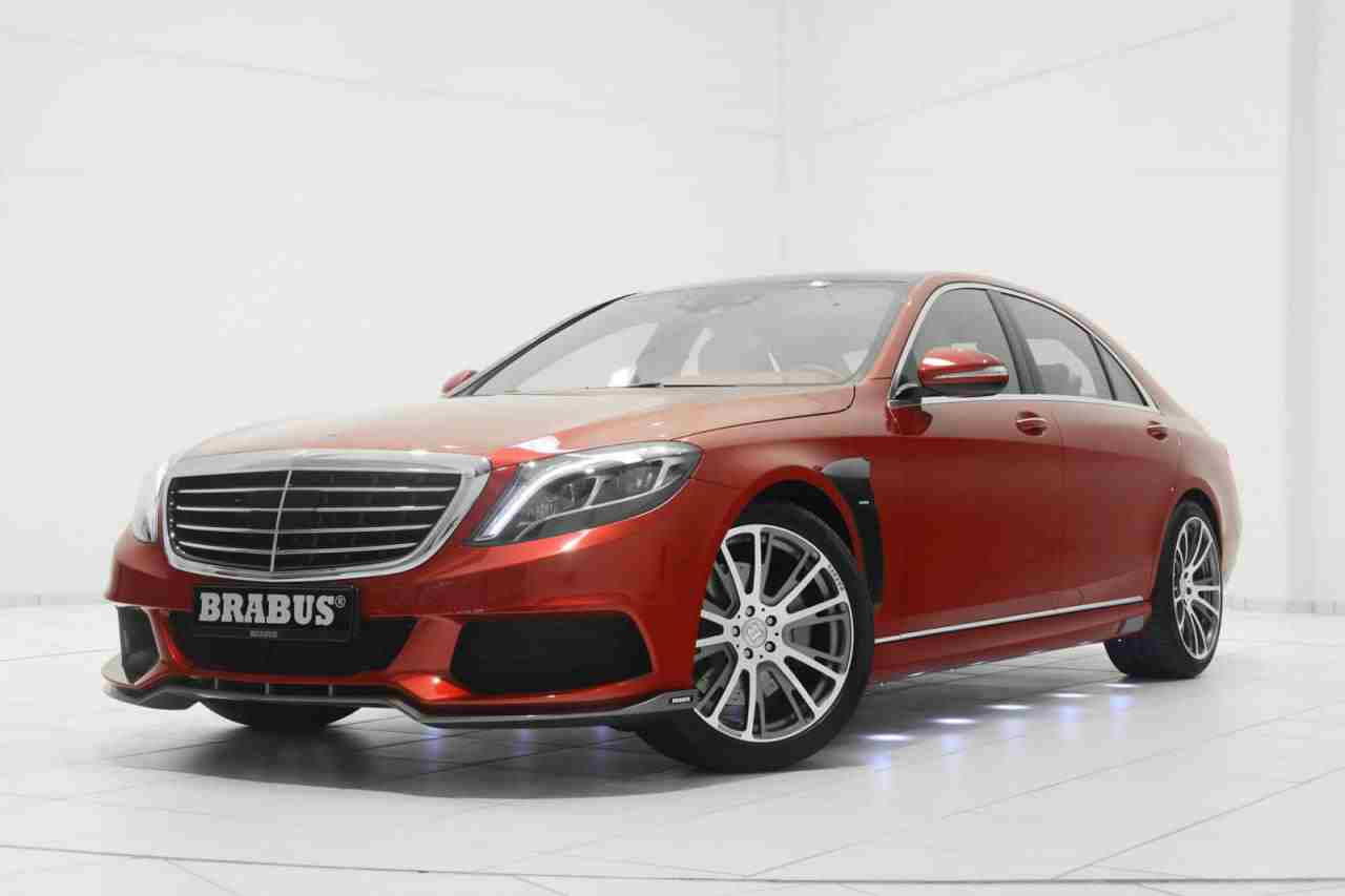 brabus unwraps a cherry mercedes s class for christmas. Black Bedroom Furniture Sets. Home Design Ideas