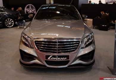 lorinser mercedes s-class at essen