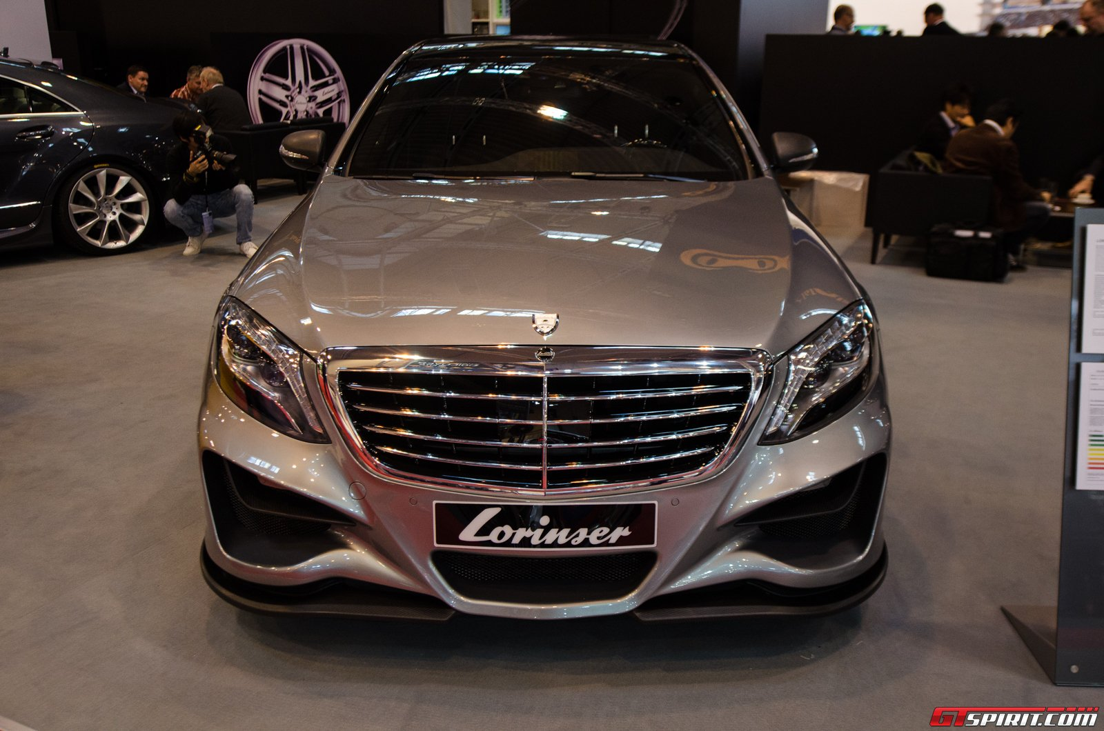 Check out the lorinser mercedes benz s500 at essen for Mercedes benz lorinser