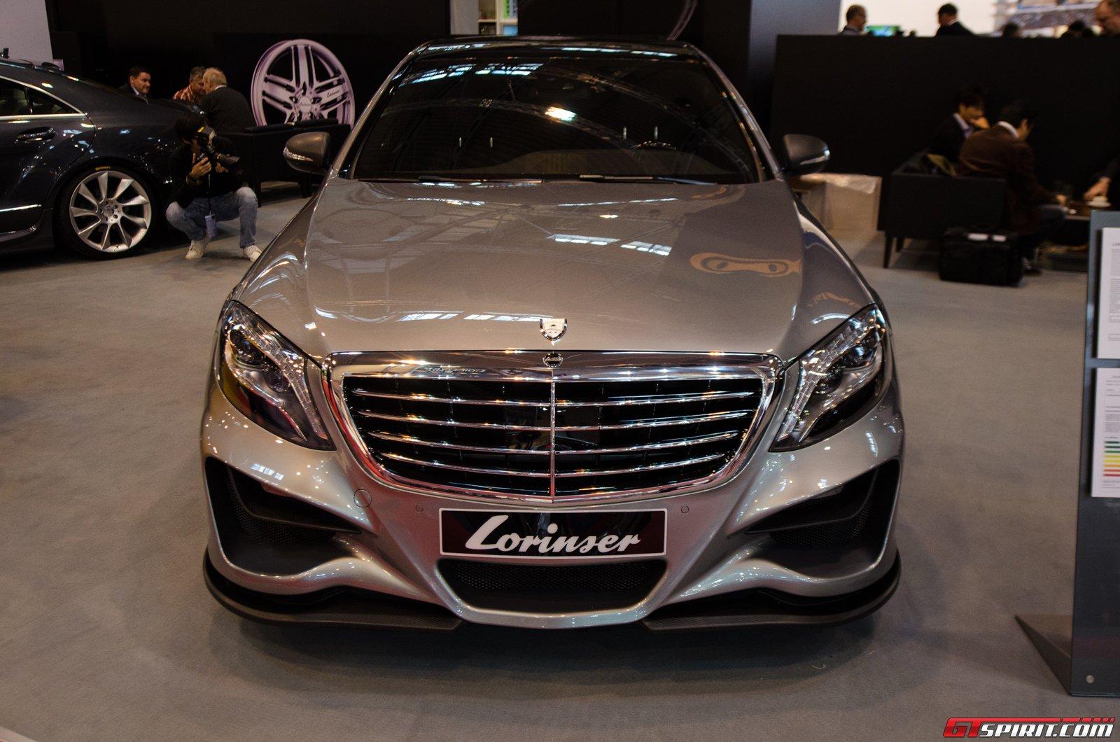 Check Out the Lorinser Mercedes-Benz S500 at Essen - BenzInsider.com ...