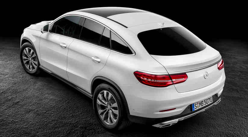 The mercedes benz gle coupe official photos are out for Mercedes benz high end suv