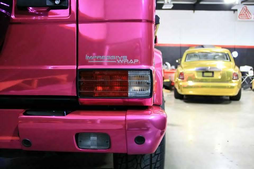 Pink mercedes g class 1 a mercedes for Pink mercedes benz