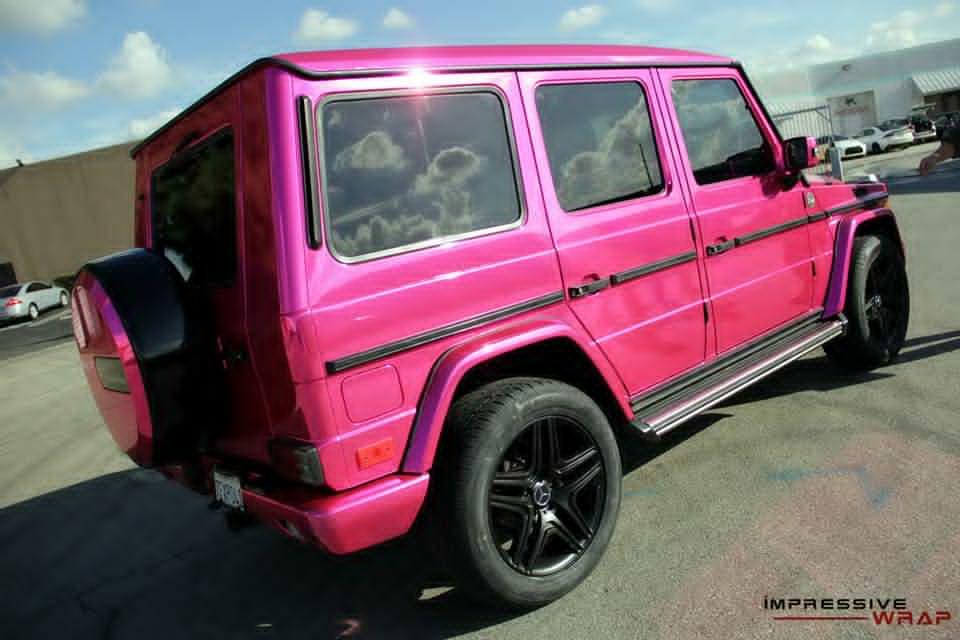 Pink mercedes g class 2 a mercedes for Pink mercedes benz