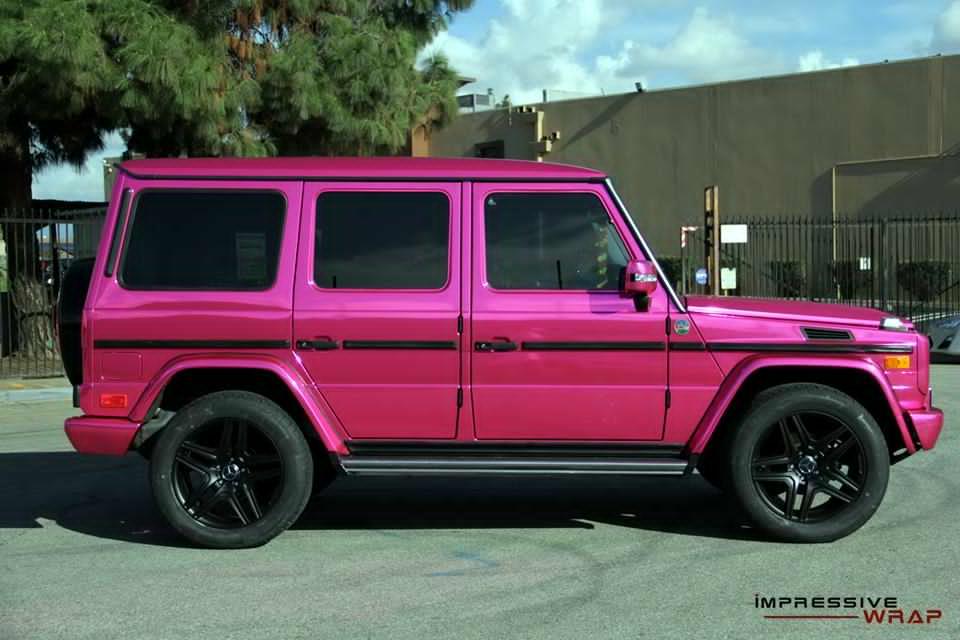 Pink Mercedes G Class 3 Benzinsider Com A Mercedes