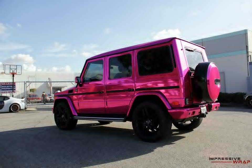 Pink Mercedes G Class 5 Benzinsider Com A Mercedes