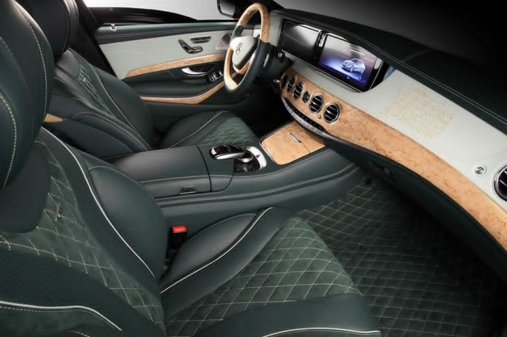 Topcar Shows New Interior Package For The Mercedes S600 Guard