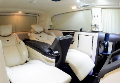 Interior Of Brabus Viano iBusiness Revealed