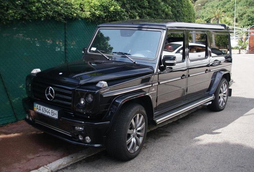 art tuned mercedes benz g55 amg seen in france a mercedes benz fan blog. Black Bedroom Furniture Sets. Home Design Ideas