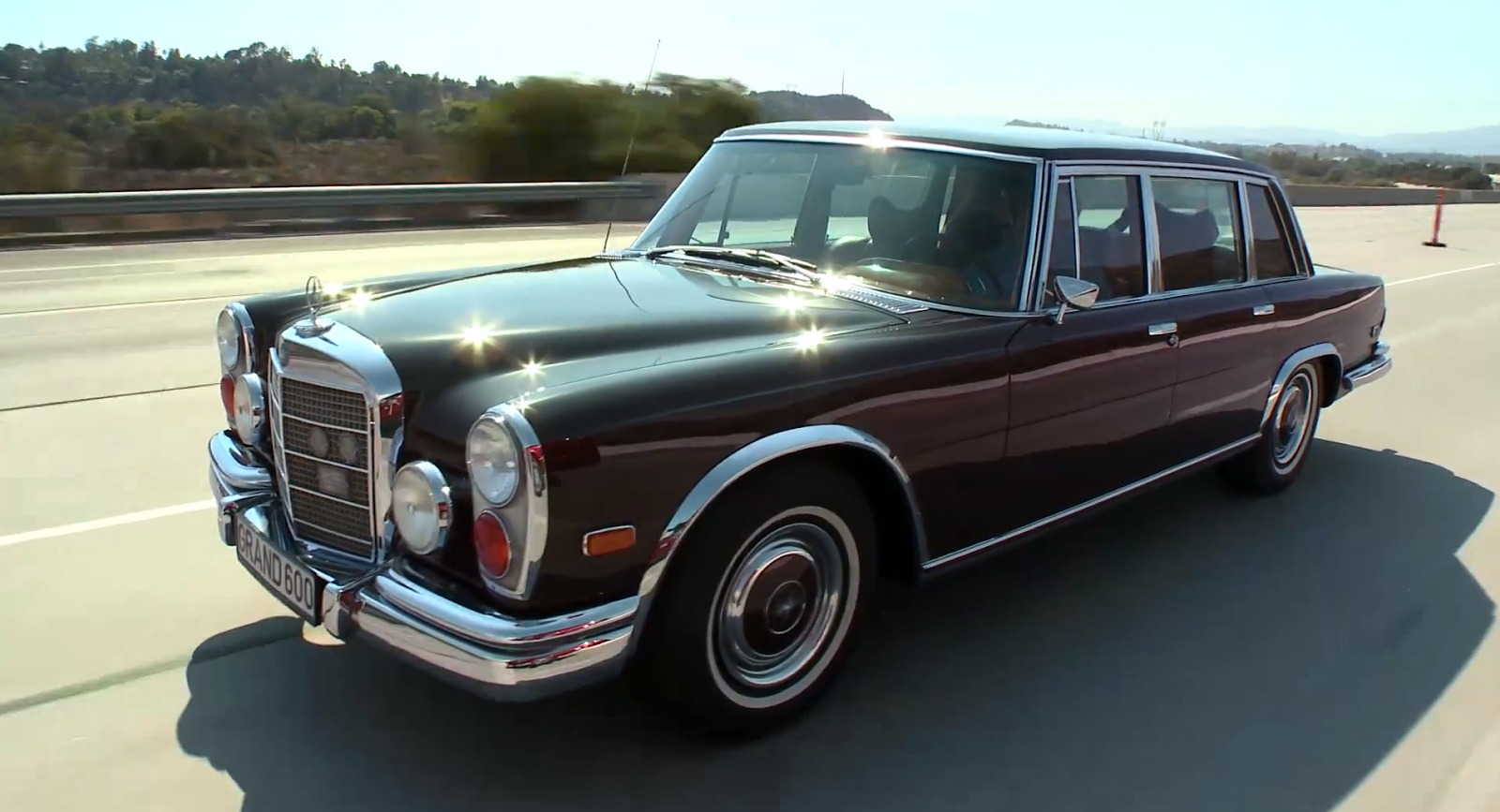 1972 mercedes benz 600 kompressor in jay leno 39 s garage