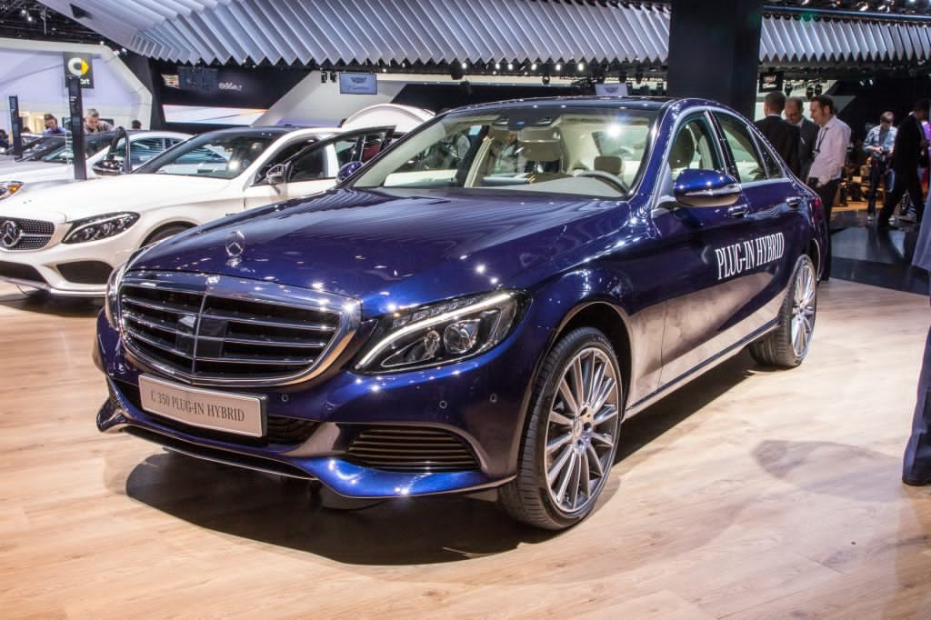 Live photos of the mercedes benz c350 plug in hybrid for Mercedes benz hybrids