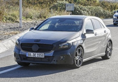 Power Of Mercedes-Benz A45 AMG Increased With Facelift