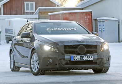 Images Of A Face-Lifted Mercedes-Benz A-Class Emerge