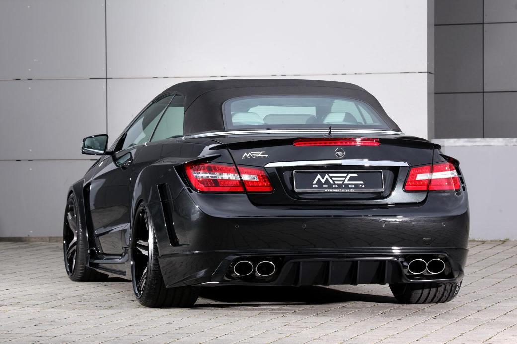Mec Design Tunes Mercedes Benz E Class Benzinsider Com