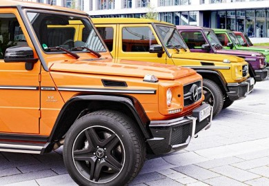 Crazy Color Edition Introduced For Mercedes-Benz G63 AMG and G65 AMG