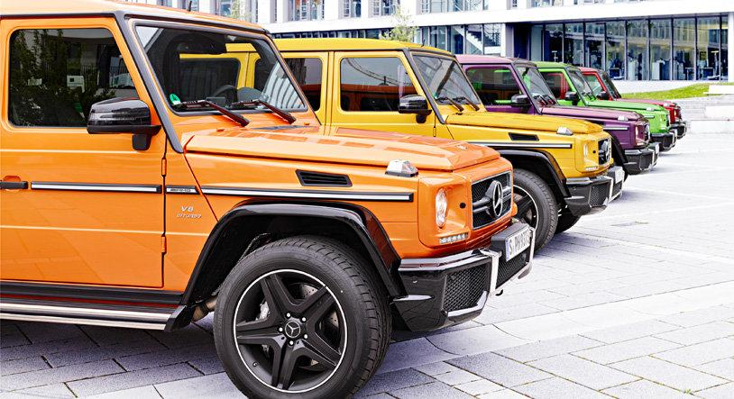 Crazy Color Edition Introduced For Mercedes Benz G63 Amg