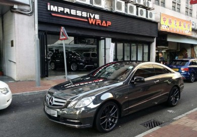 IW mercedes e-class coupe