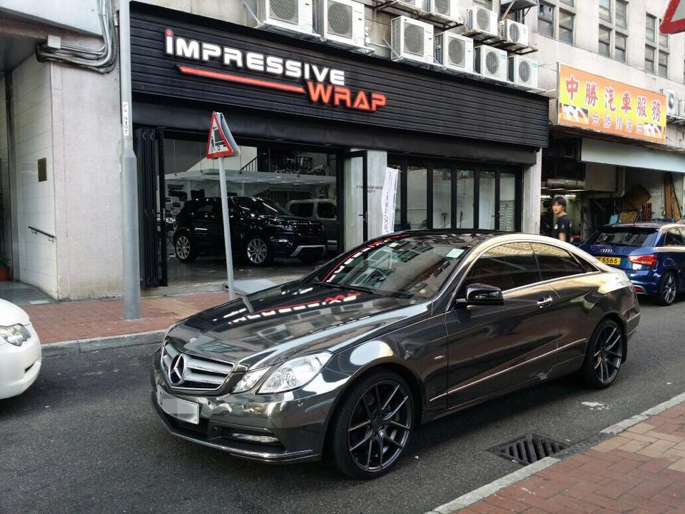 Look At This Shiny Mercedes E Class Coupe Benzinsider